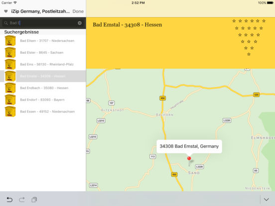 izip Germany iPad Screenshot 1