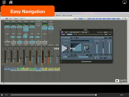 MPV's UltraBeat Drum Machine Tutorials iPad Screenshot 3