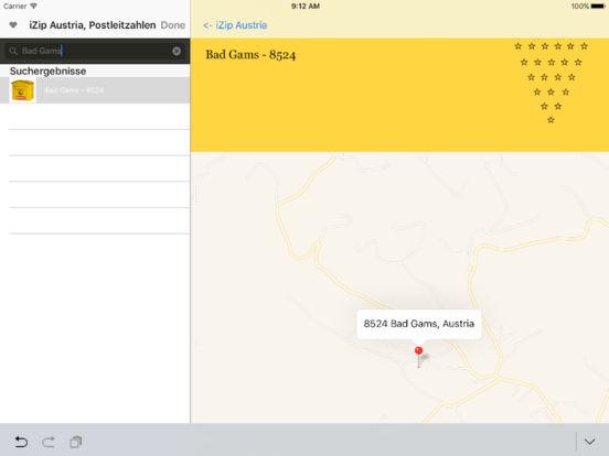 izip Austria iPad Screenshot 2