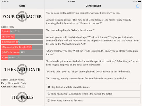 Congresswolf для iPad
