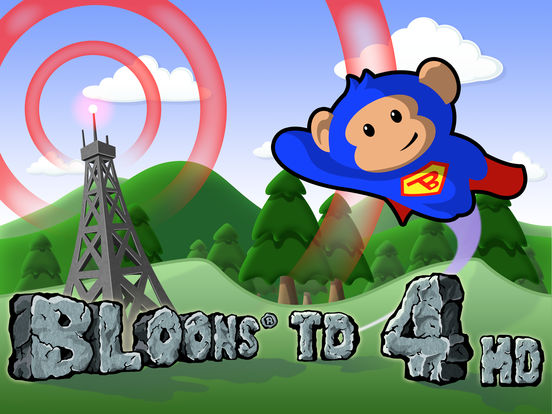 Bloons TD 4 HD Screenshot