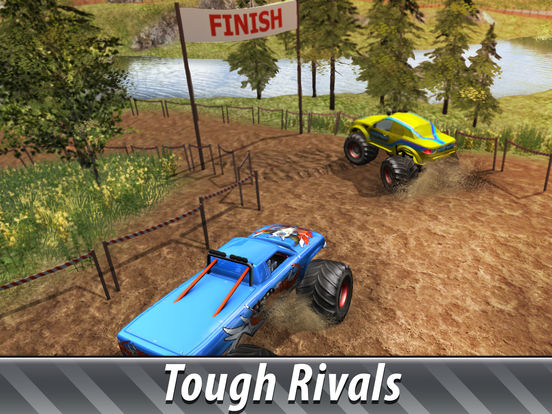 Monster Truck Offroad Rally 3D 2 Full для iPad