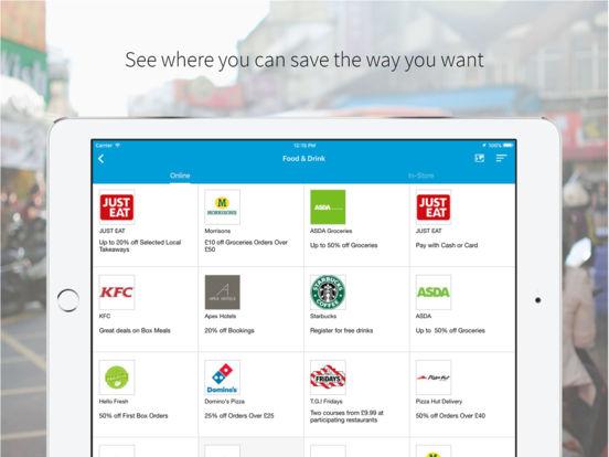 vouchercloud: restaurant deals, vouchers & offers screenshot