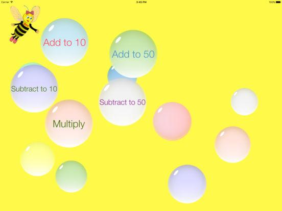 Bubble Add iPad Screenshot 1