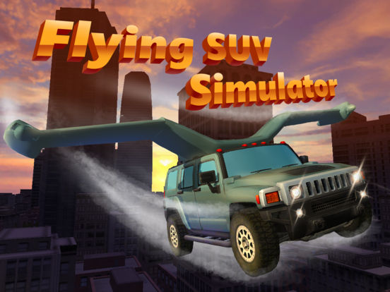 Flying SUV Driver Simulator 3D Full - Try to drive or fly SUV in our futuristic car simulator! Screenshots