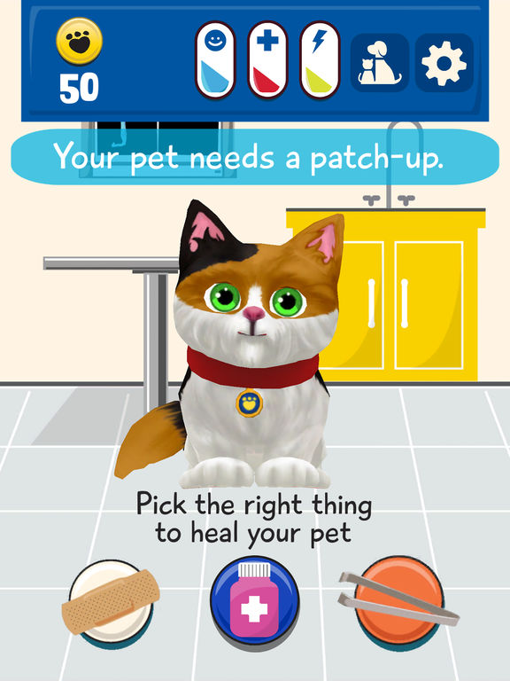 iPad Screenshot 2. Promise Pets by Build A Bear  A Virtual Pet Game on the App Store