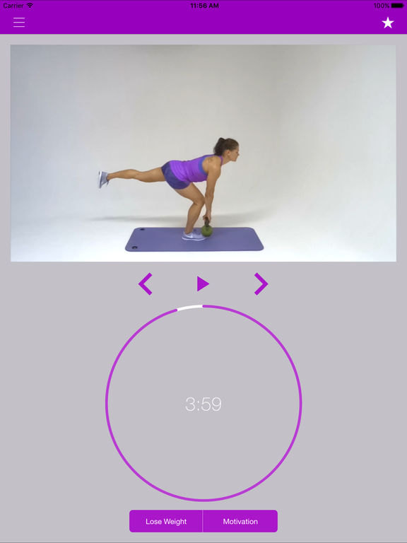 Kettlebell Exercises & Workout Training Routine Screenshots