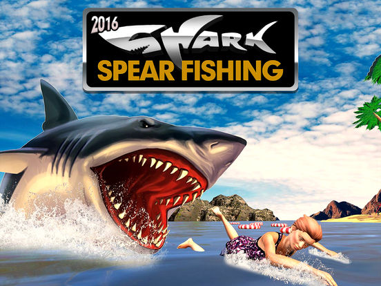 Shark spear fishing great white fish hunting games pro by for Shark fishing games
