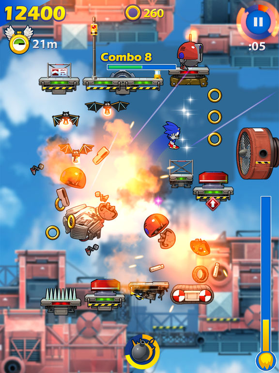 Sonic Jump Fever Screenshots