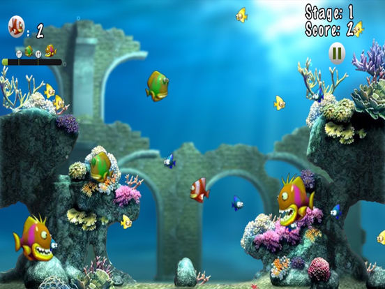 App shopper the fish eat fish children 39 s game games for Fish eat fish game