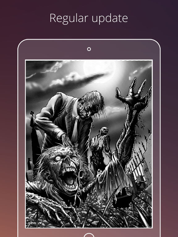 zombie live wallpapers hd scary backgrounds on the app store