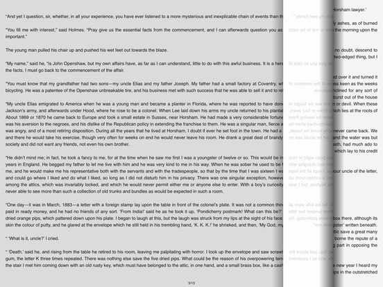The Five Orange Pips – AudioEbook iPad Screenshot 1