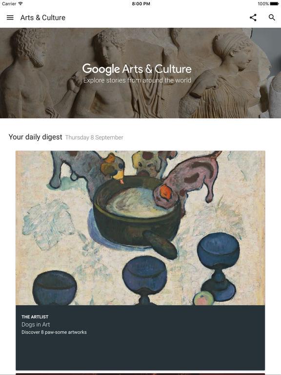 Arts & Culture screenshot