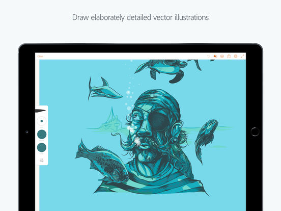 how to use adobe draw on ipad