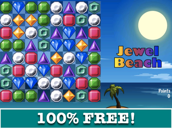 Jewel Beach! iPad Screenshot 1