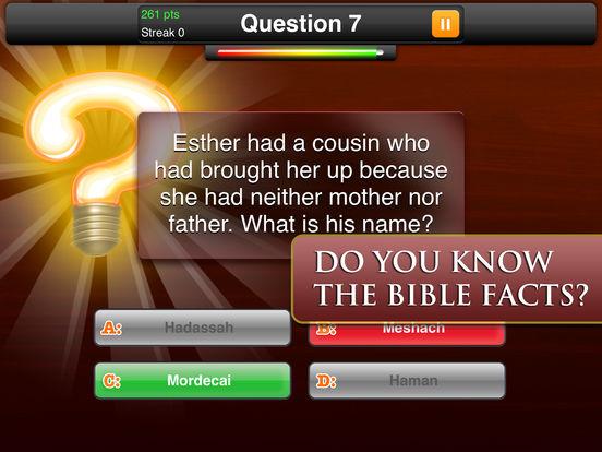 Bible Quiz Game Ⓑscreeshot 4