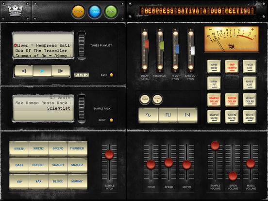 Dub Siren Pro iPad Screenshot 1