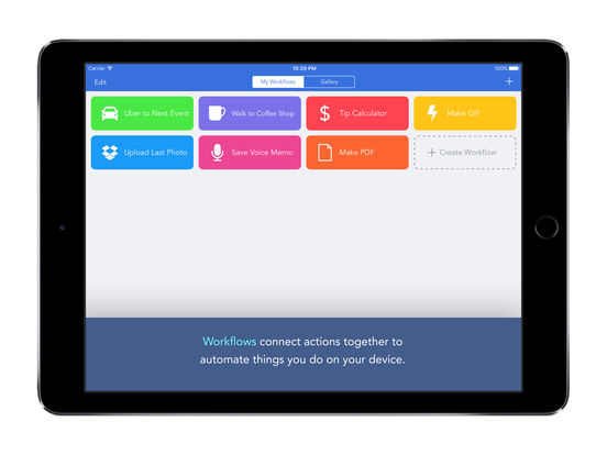 Workflow: Powerful Automation Made Simple Screenshots
