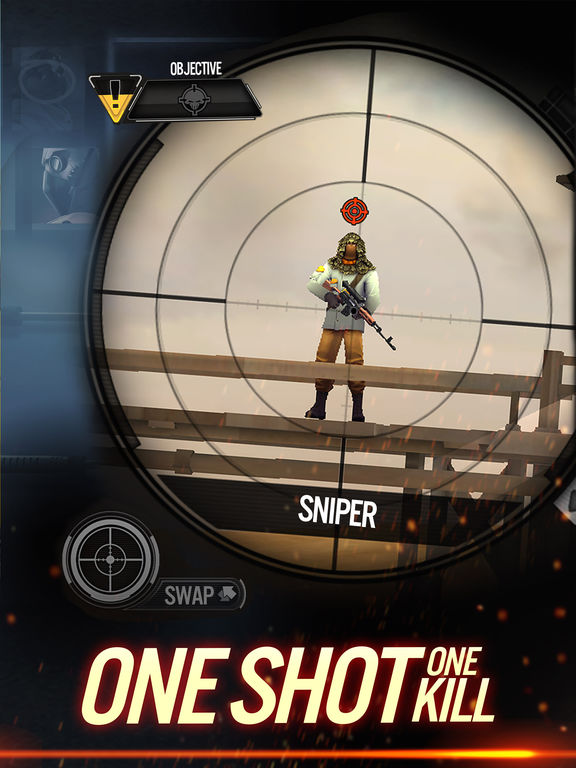 Sniper X with Jason Stathamscreeshot 3