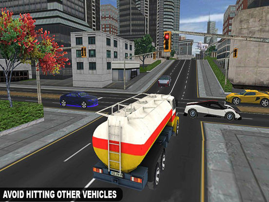 Drive City Oil Transporter Truck Pro screenshot 9