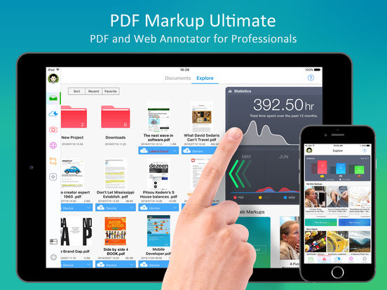 PDF Markup Ultimate - Annotate PDFs and Web Pages Screenshots