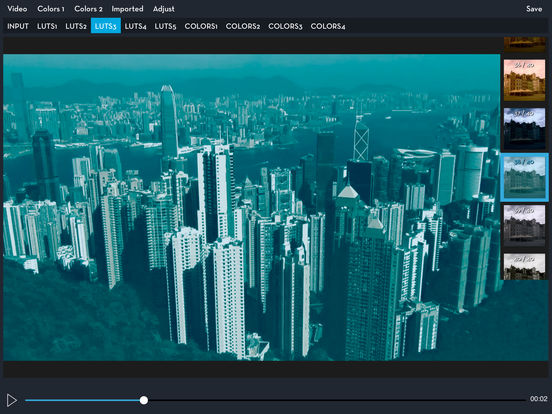 Video LUT Color Grading Screenshots