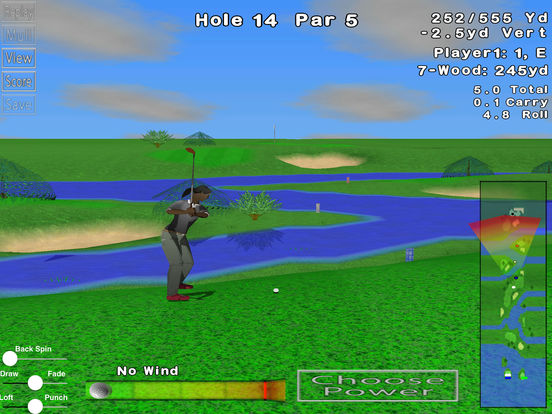 GL Golf Lite iPad Screenshot 1