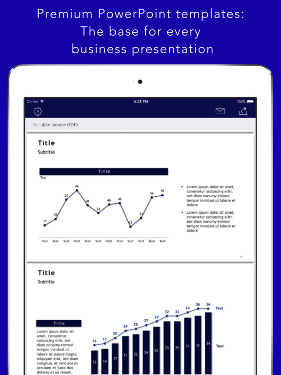 Presentation Base for PowerPoint Screenshots