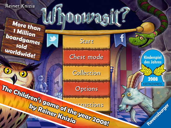 Whoowasit? - Children's game of the year 2008 Screenshots
