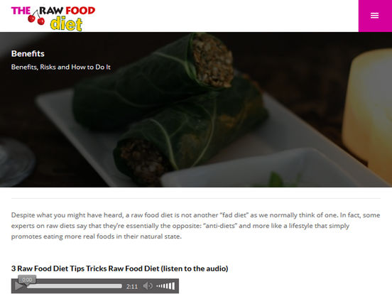 App Shopper: Raw Food Diet Plan for weight loss fast ...