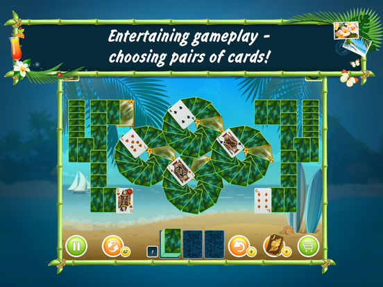 Solitaire Beach Season Screenshots