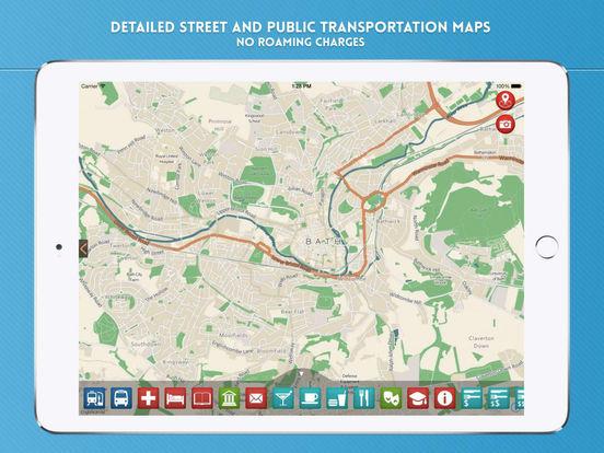 Bath Travel Guide iPad Screenshot 4