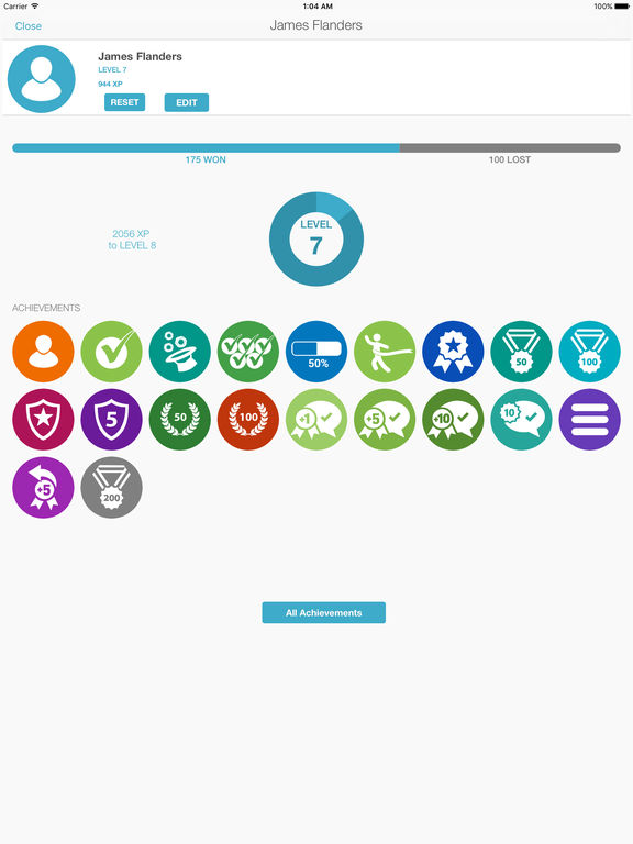 Screenshots of Learn HTML for iPad