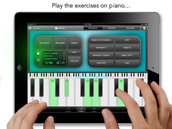 goodEar Chords - Ear Training Screenshots