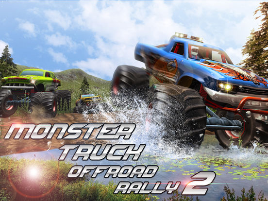 Monster Truck Offroad Rally 3D 2 Full на iPad