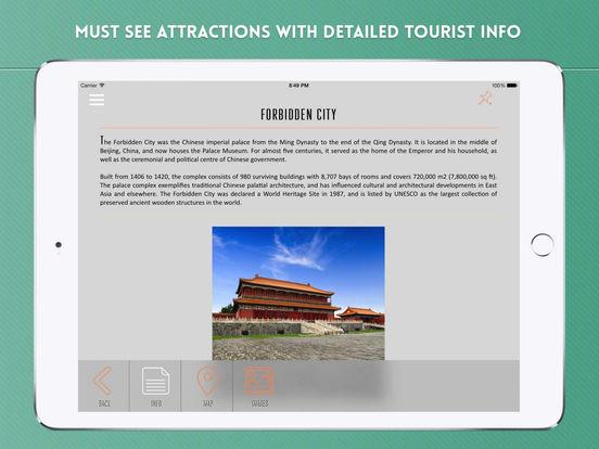 Beijing City Travel Guide iPad Screenshot 3