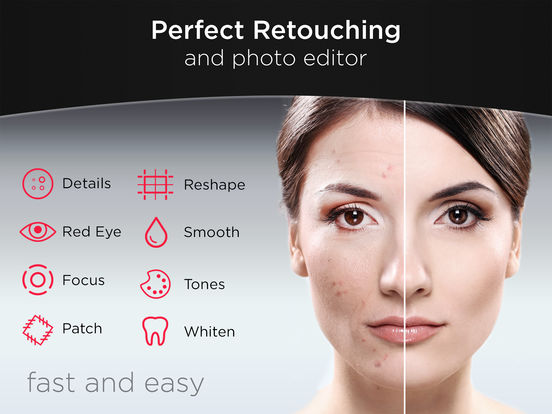TuneFace - Professional Photo Retouch and Editor Screenshots