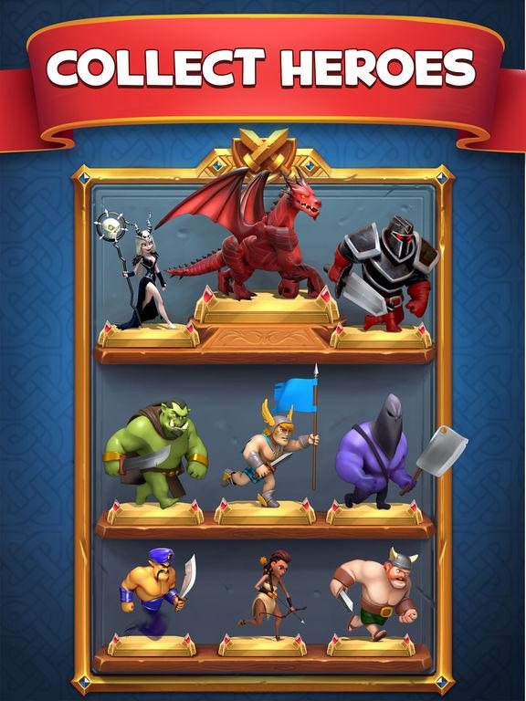 Castle Crush: Epic Strategy Gamescreeshot 3