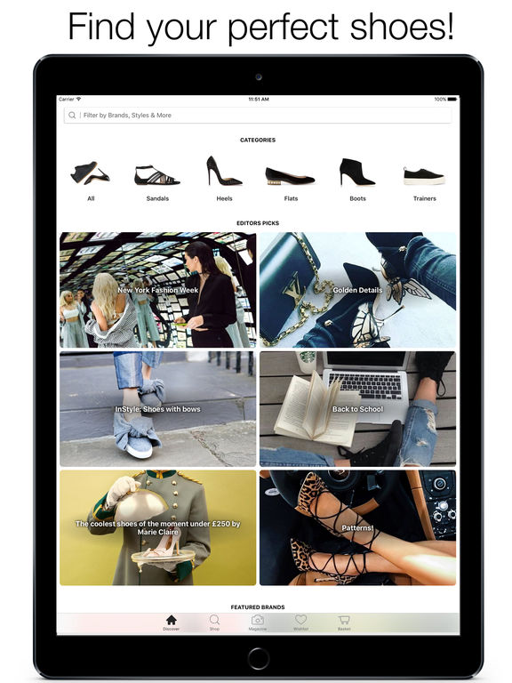 Stylect - Find your Perfect Shoes! screenshot