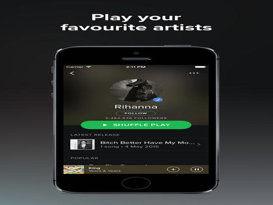 Music Pro for Spotify Premium Music screenshot 6