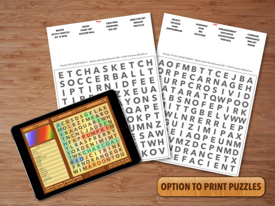 WordSearch HD Free iPad Screenshot 2