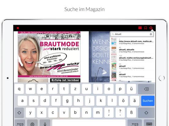 Aktuell OW iPad Screenshot 5