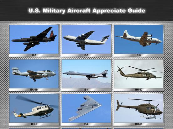 U.S. Military Aircraft Appreciate Guide iPad Screenshot 1