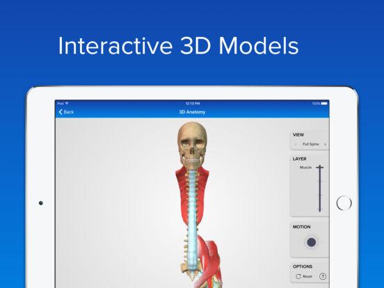 SpineDecide iPad Screenshot 2