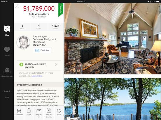 Counselor Realty - Home Search Minnesota Real Estate iPad Screenshot 3