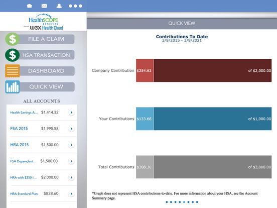 HealthSCOPE Benefits Mobile iPad Screenshot 4