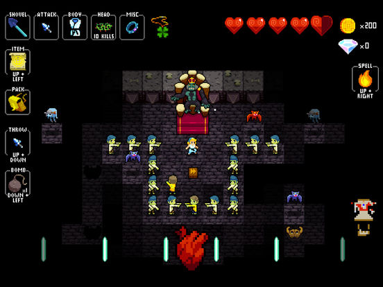 Crypt of the NecroDancer Pocket Edition Screenshots