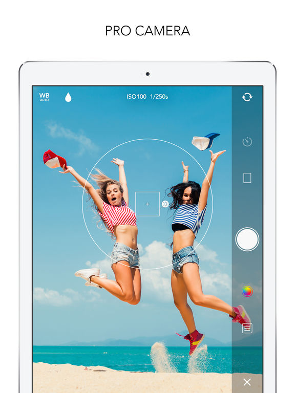 Screenshots of MOLDIV - Photo Editor, Collage & Beauty Camera for iPad