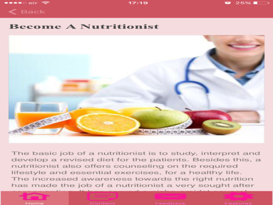 how to become a successful nutritionist