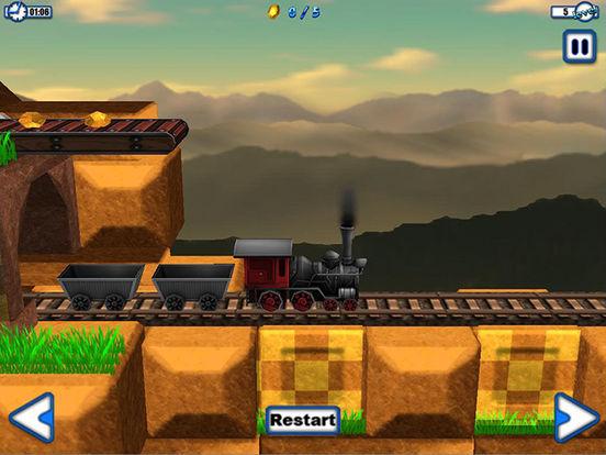 A Delivery Train HD iPad Screenshot 1